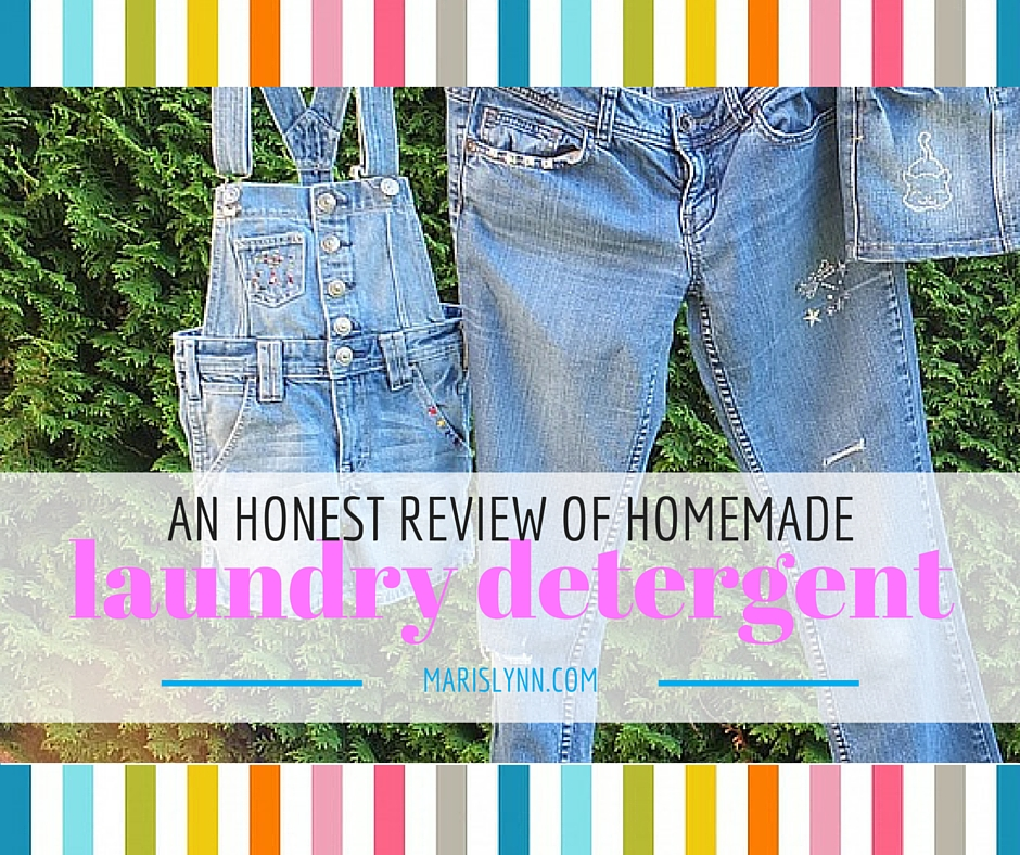 Homemade Laundry Detergent Review