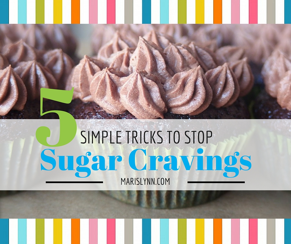 5 Simple Tricks to Stop Sugar Cravings