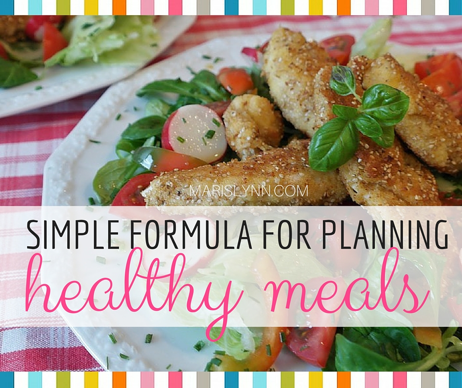 The Simple Formula I Use to Plan Meals
