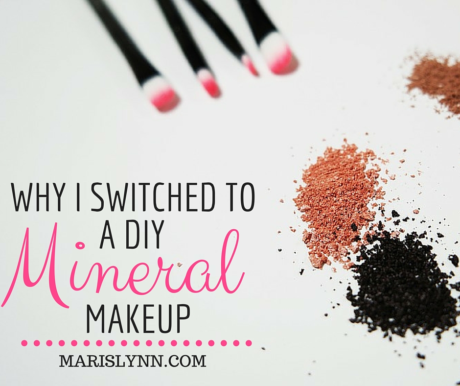 Why I Switched to a DIY MineralMakeup